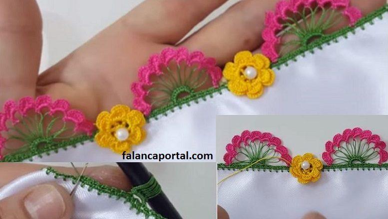 Çiçekli Kalem Oyası Yapımı