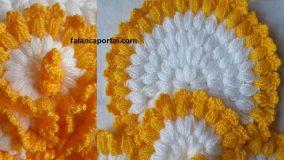 Süslü Bahar Çiçeği Lif Modeli 3