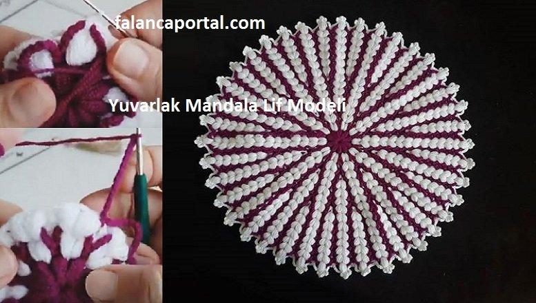 Yuvarlak Mandala Lif Modeli