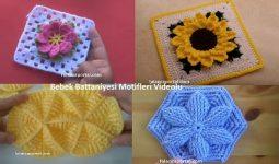 Bebek Battaniye Motifleri Yapilisi 3