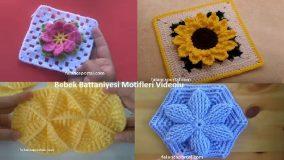 Bebek Battaniyesi Motifleri Videolu