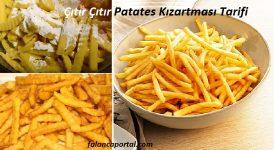 Çıtır Çıtır Patates Kızartması Tarifi 1