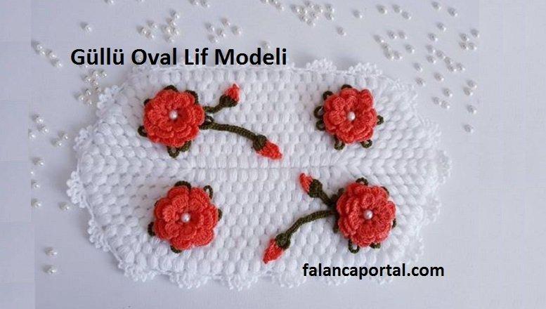 Güllü Oval Lif Modeli