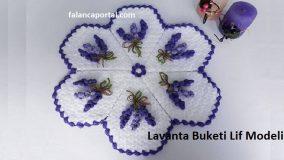 Lavanta Buketi Lif Modeli