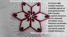 Örümcekli Yıldız Lif Modeli 1