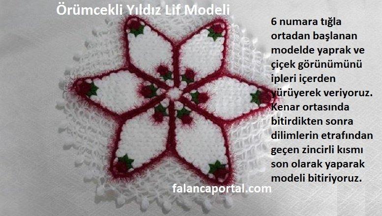 Örümcekli Yıldız Lif Modeli