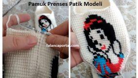 Pamuk Prenses Patik Modeli