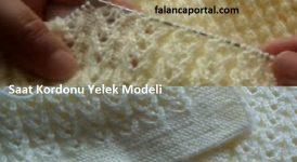 Saat Kordonu Yelek Modeli Türkçe 1
