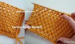 Sarhos Ayagi Modeli 1