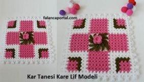 Kar Tanesi Kare Lif Modeli 1