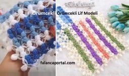 Orumcekli Renkli Lif Modeli 2jpg