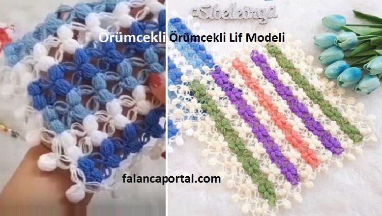 Örümcekli Renkli Lif Modeli