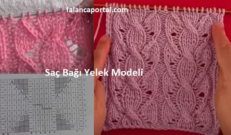 Sac Bagi Yelek Modeli 1