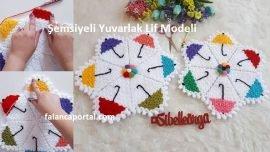 Şemsiyeli Yuvarlak Lif Modeli