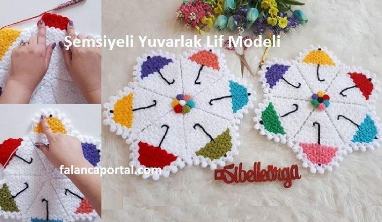 Şemsiyeli Yuvarlak Lif Modeli 1