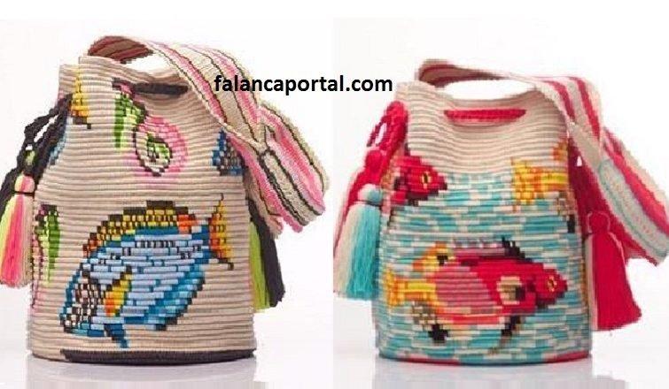 Wayuu Çanta modelleri ve yapımı 2