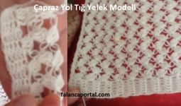 Apraz Yol Tig Yelek Model 1