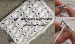 Agir Halay Bebek Yelek Modeli 1