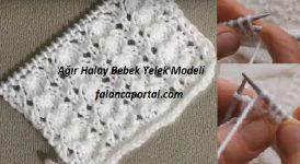 Ağır Halay Bebek Yelek Modeli 1