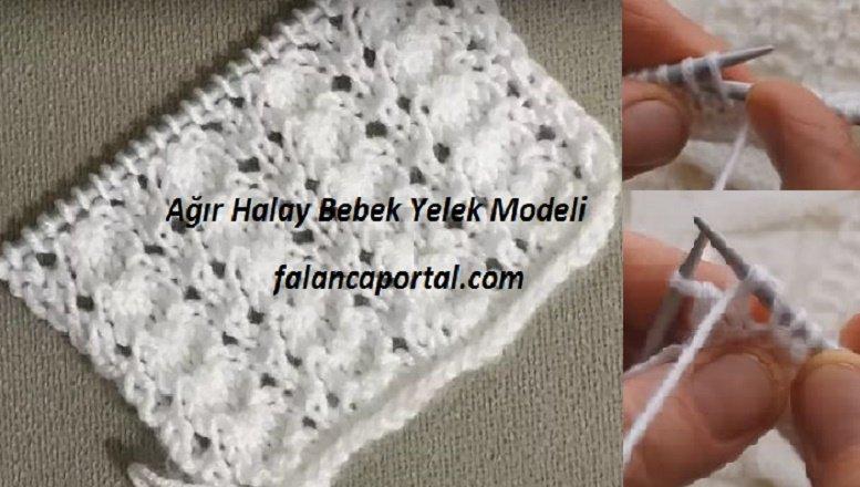 Ağır Halay Bebek Yelek Modeli