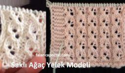 Sakli Agac Yelek Modeli 1