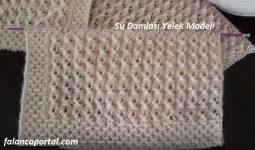 Su Damlasi Yelek Modeli 1