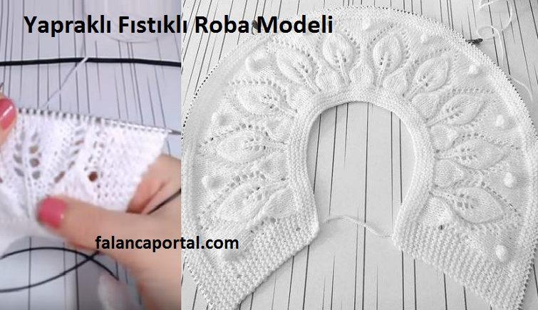 Yapraklı Fıstıklı Roba Modeli 1