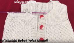 Bal Köpüğü Bebek Yelek Modeli 1
