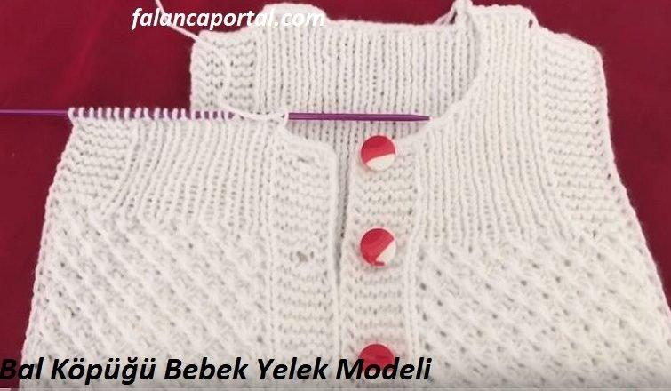 Bal Kopugu Bebek Yelek Modeli 1