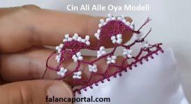 Cin Ali Aile Oya Modeli 1