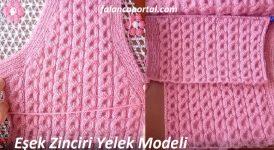 Eşek Zinciri Yelek Modeli 1