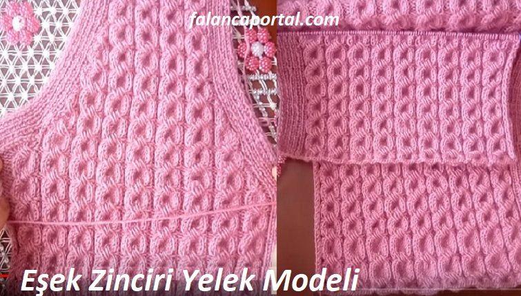 Esek Zinciri Yelek Modeli 1