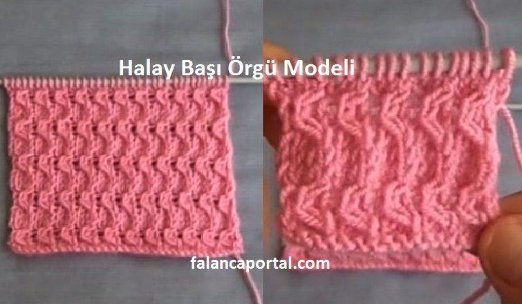 Halay Basi Orgu Modeli 1