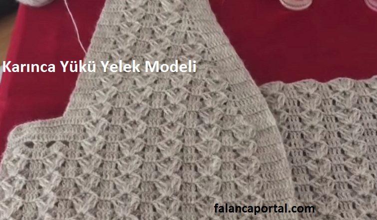 Karinca Yuku Yelek Modeli 1