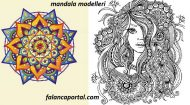 Mandala Modelleri Ve Yapılışı 2