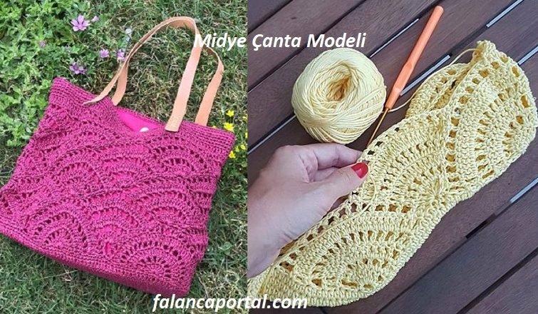 Midye Canta Modeli 1
