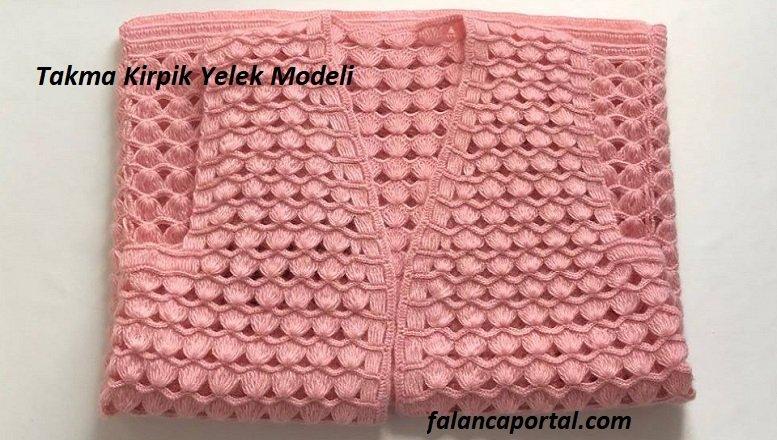 Takma Kirpik Yelek Modeli 1