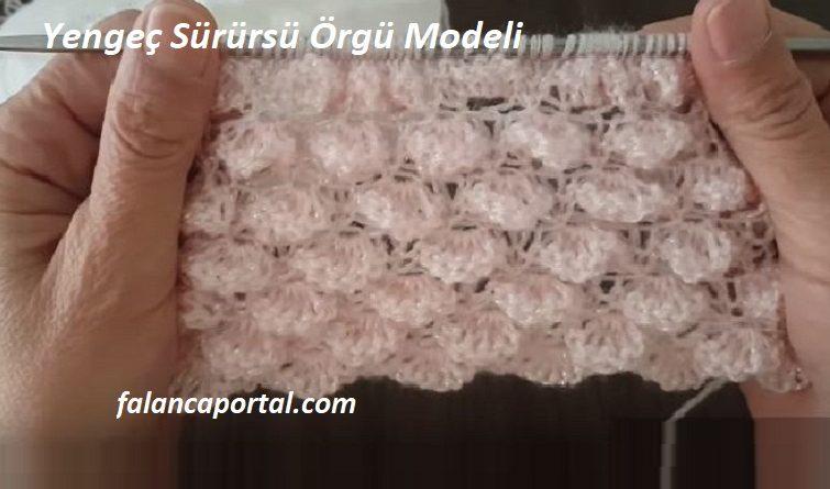 Yengec Surusu Orgu Modeli 1