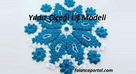Yıldız Çiçeği Lif Modeli 1