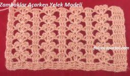 Zambaklar Acarken Yelek Modeli 1
