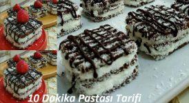 10 Dakikalık Pasta Tarifi 1
