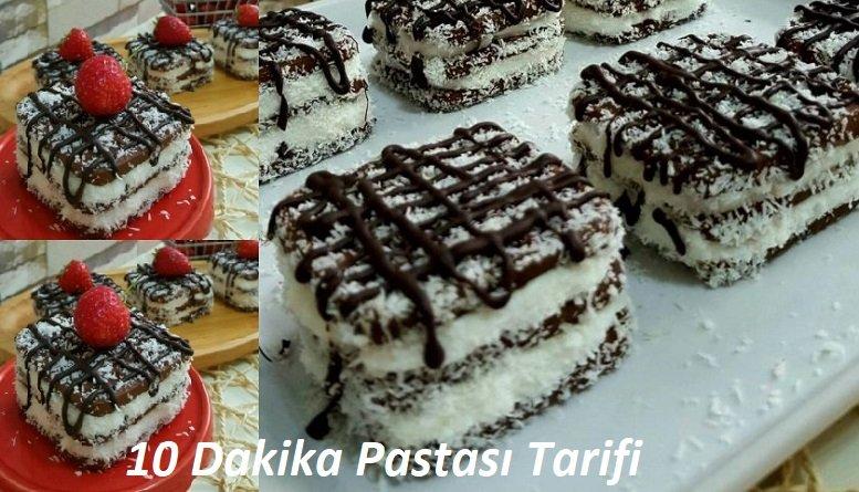 10 Dakikalık Pasta Tarifi