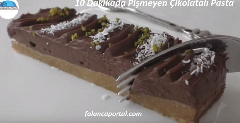 10 Dakikada Pismeyen Cikolatali Pasta 1