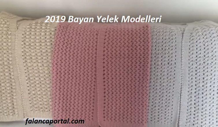 2019 Tığ Bayan Yelek Modelleri 1