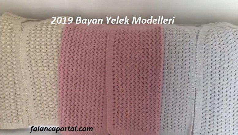 2019 Tığ Bayan Yelek Modelleri