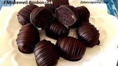 3 Malzemeli Bonbon Kek