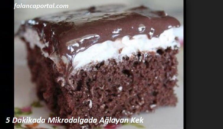 5 Dakikada Mikrodalgada Ağlayan Kek 1
