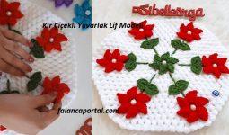 Kır Çiçekli Yuvarlak Lif Modeli 1