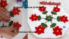 Kır Çiçekli Yuvarlak Lif Modeli