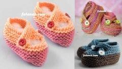 Açıklamalı Bebek Patik Modelleri
